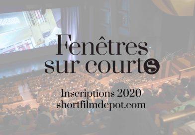 Fenêtres sur courts 2020 : ouvertures des inscriptions